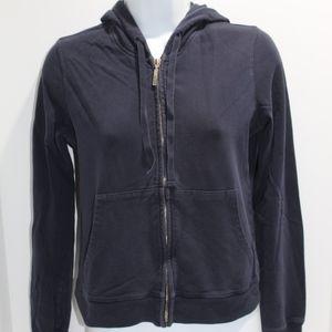 Women's Vince navy blue full zip hoodie size S